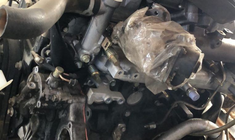 Despiece motor Mitsubishi Montero 3.2DID